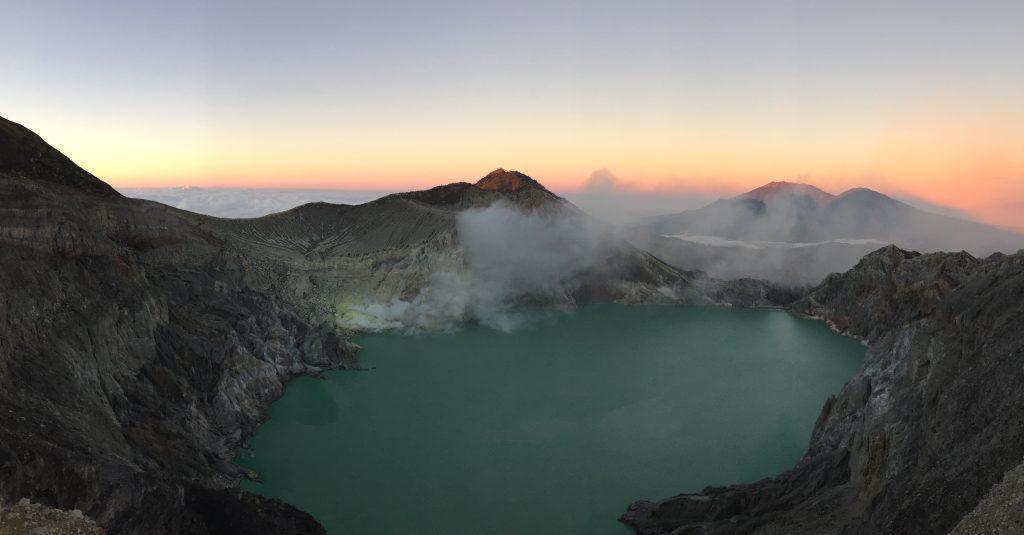 Route Indonesië Zonsopkomst Kawah Ijen