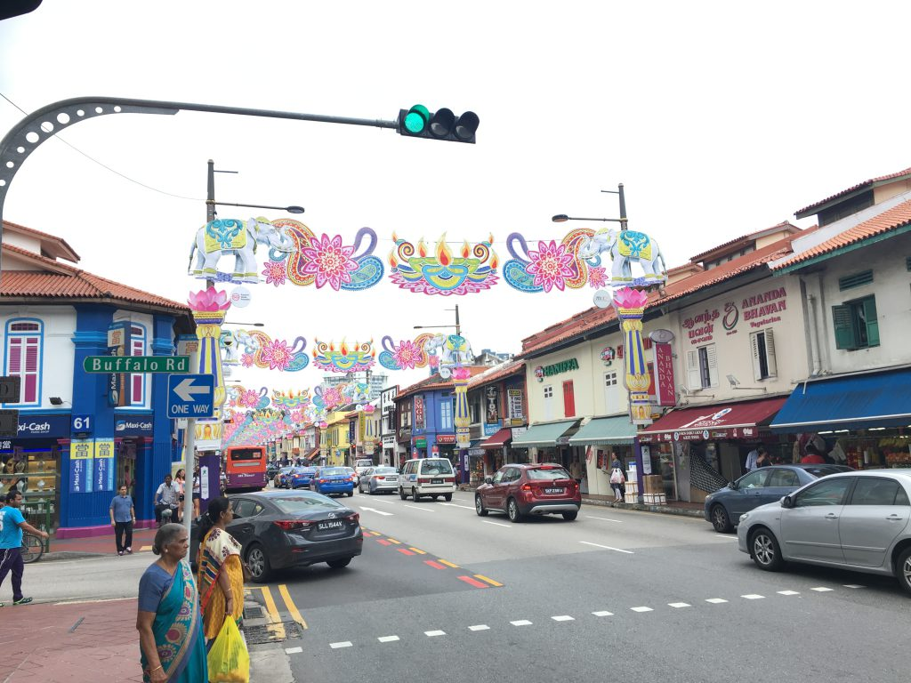 Tips overstap Singapore: Straatbeeld Little India