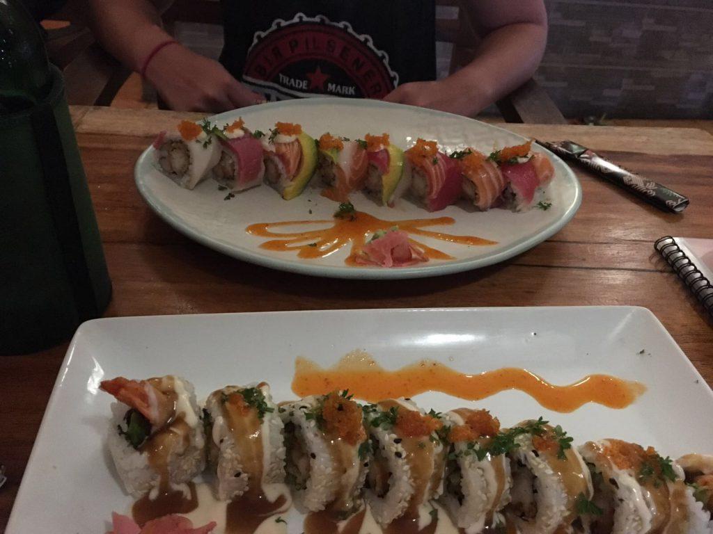 Sushi Nusa Lembongan: Oishii Bar & Grill Lembongan