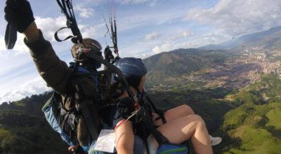 Paragliden in Medellin