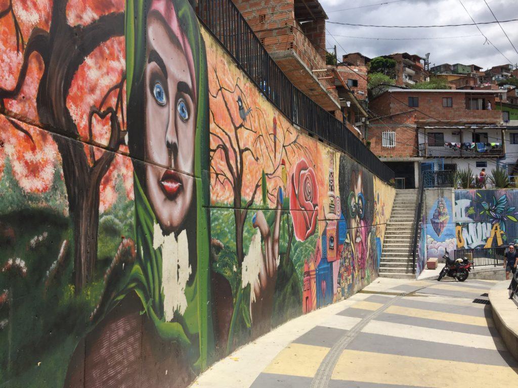 Doen in Medellin: Streetart La Comuna 13