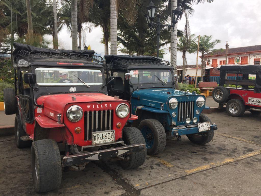 De Willy's naar Valle del Cocora