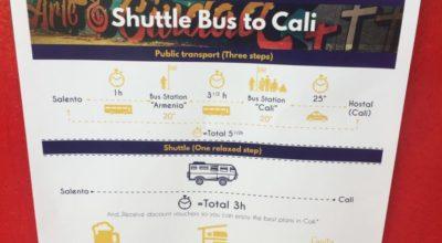 Bus Salento naar Cali