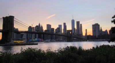 Tips New York: Zondsondergang vanaf Main Street Park