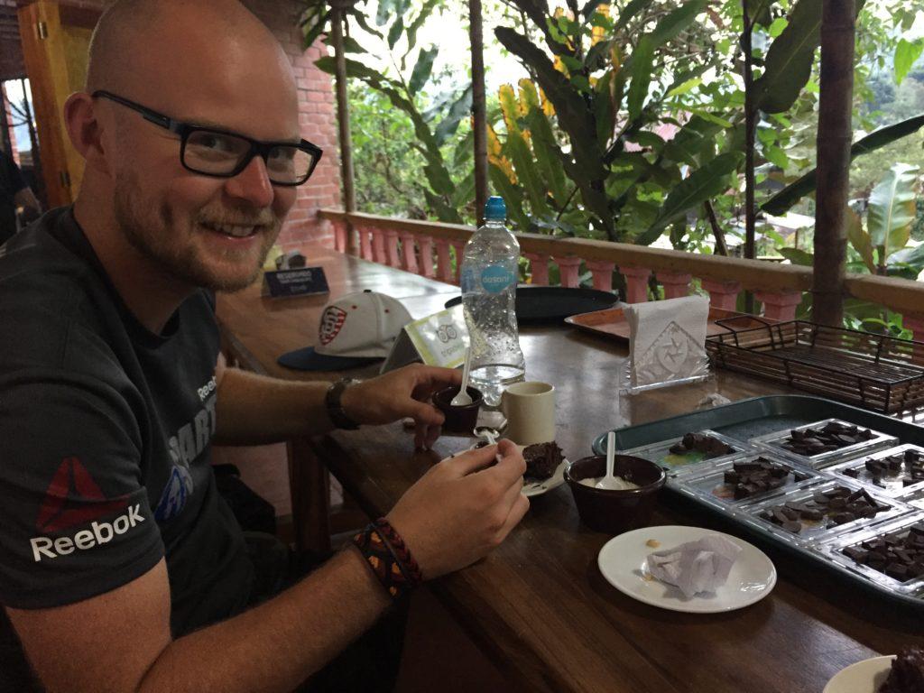 Doen in Mindo: Chocolade proeverij