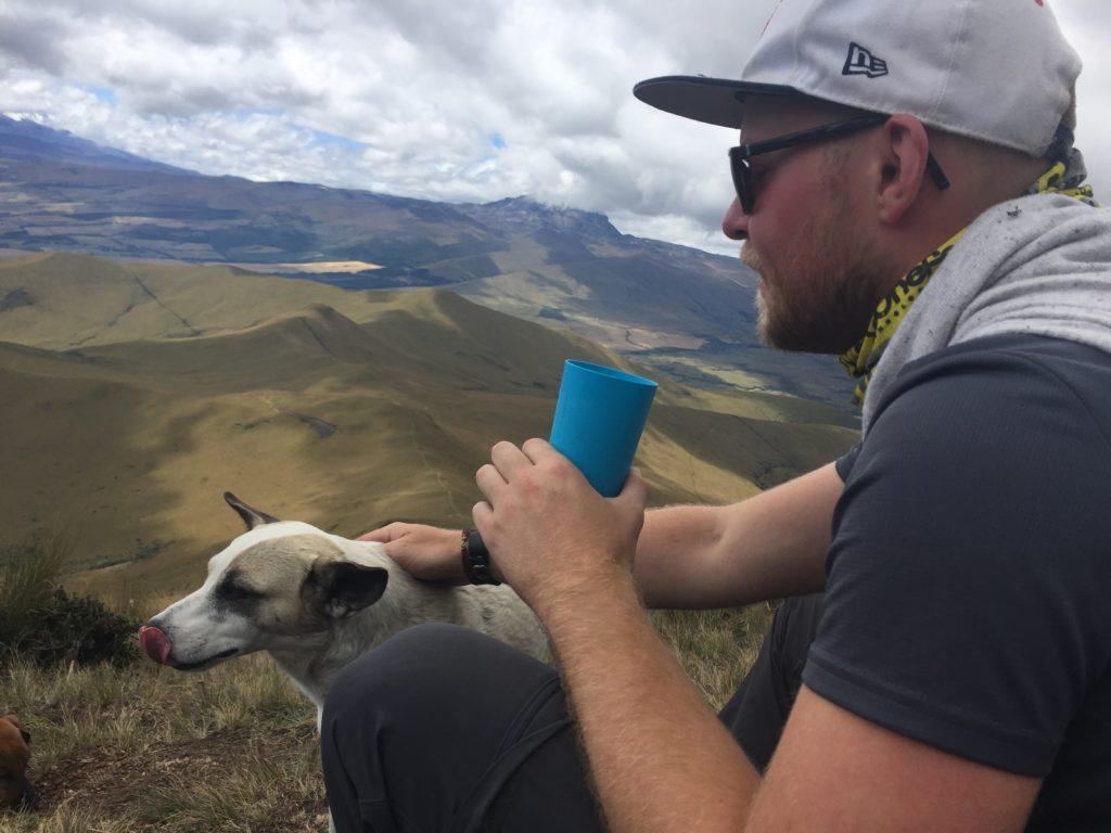Pasochoa hike summit 4200m