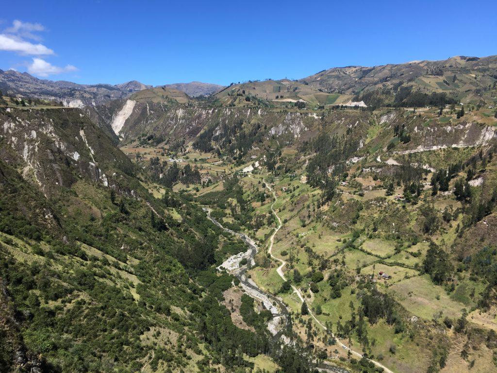 Dag 2: Isinlivi naarChugchilán