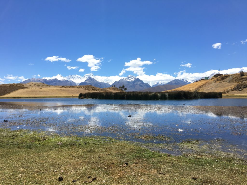 Hiken in Huaraz: Wilccocha lake