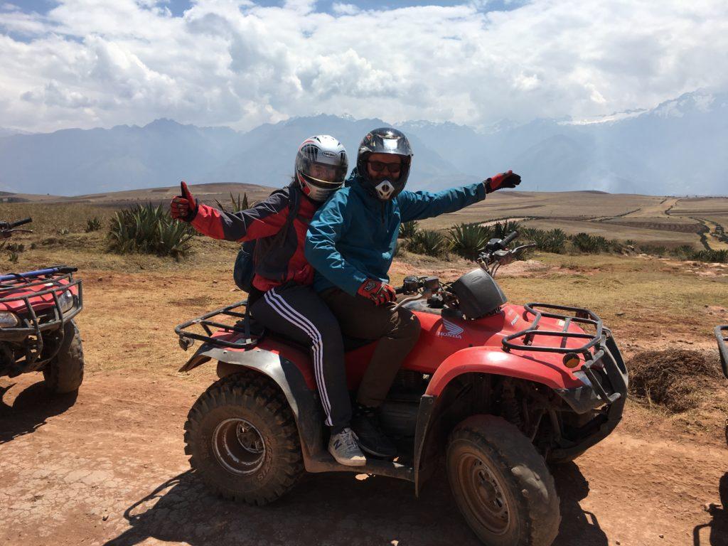 Hartstikke leuke dag gehad op de Quad rijden rond Cusco