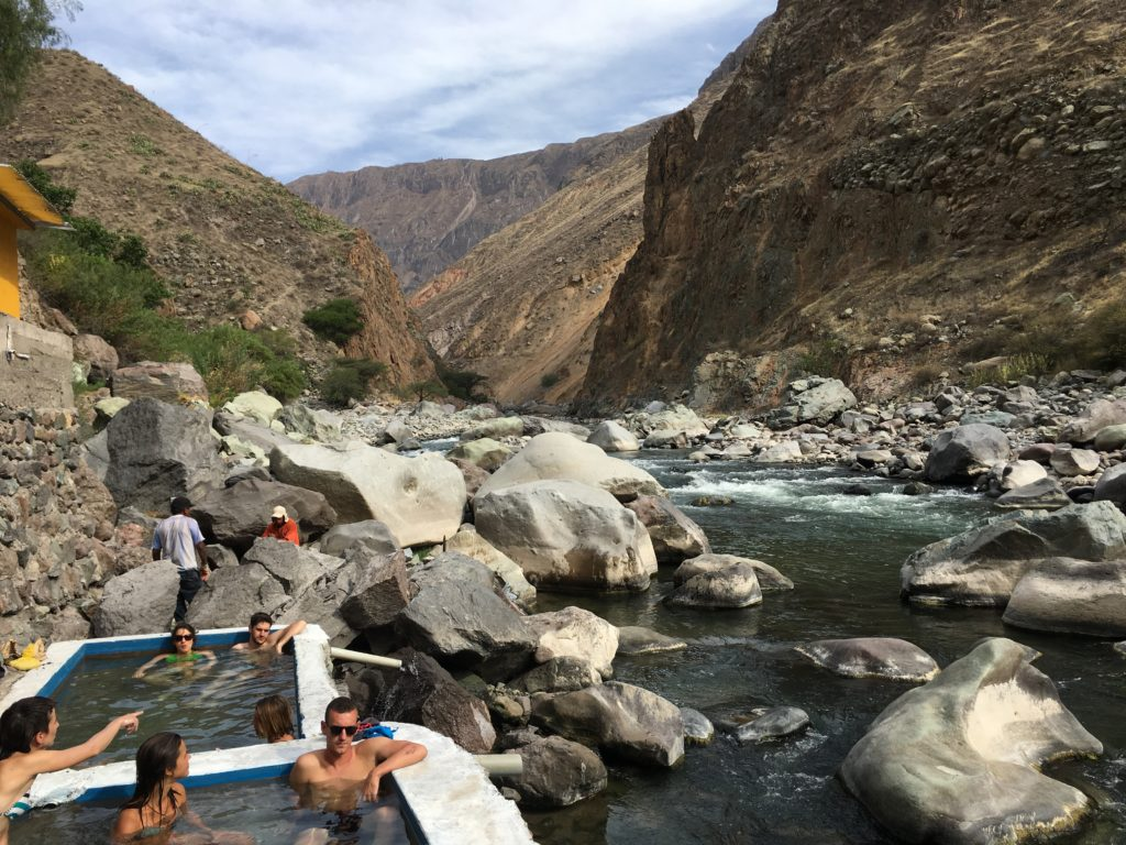 Colca Canyon: Llahuar lodge met hotsprings