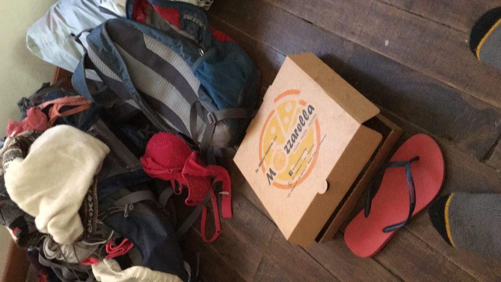 5x eten in La Paz: Mozarella
