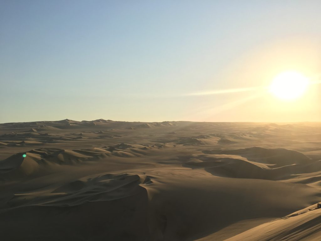 Tips Huacachina: Zonsondergang bekijken