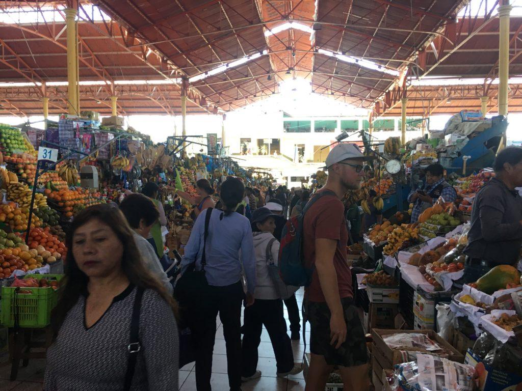 Hotspots van Arequipa: Mercado San Camilo