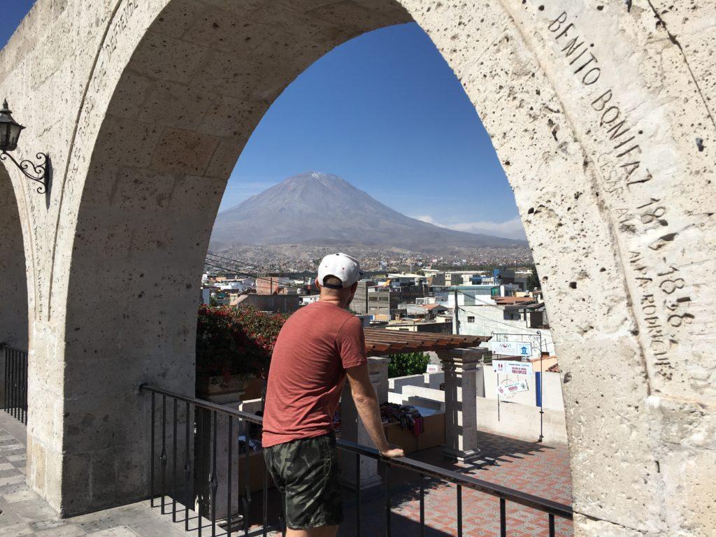 Hotspots van Arequipa: Viewpoint Yanahuara