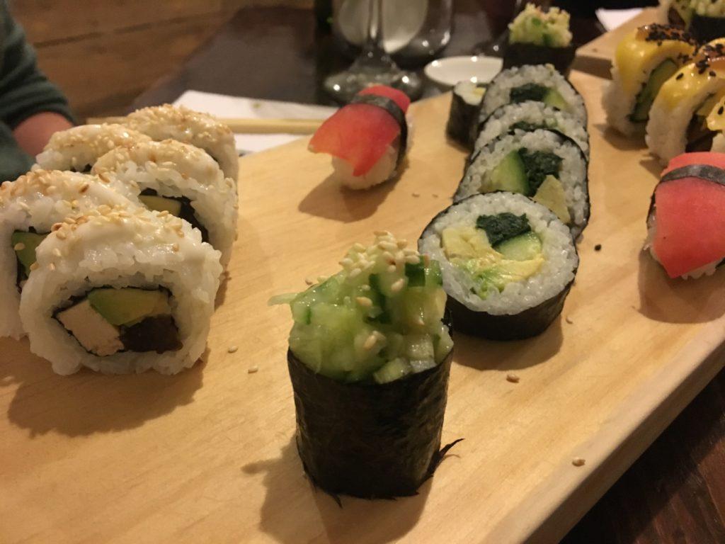 Hotspots van Arequipa: Vegan Sushi bij El Buda Profano