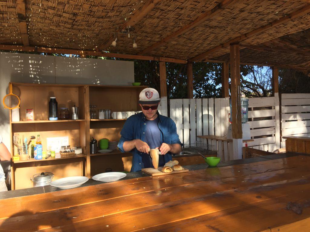 Brian maakt ons ontbijtje