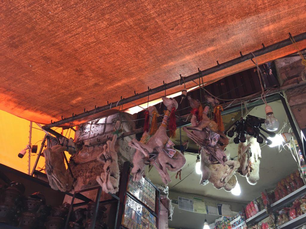 5x Doen in La Paz: Witches Market