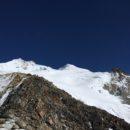 De top van de Huayna Potosi in zicht