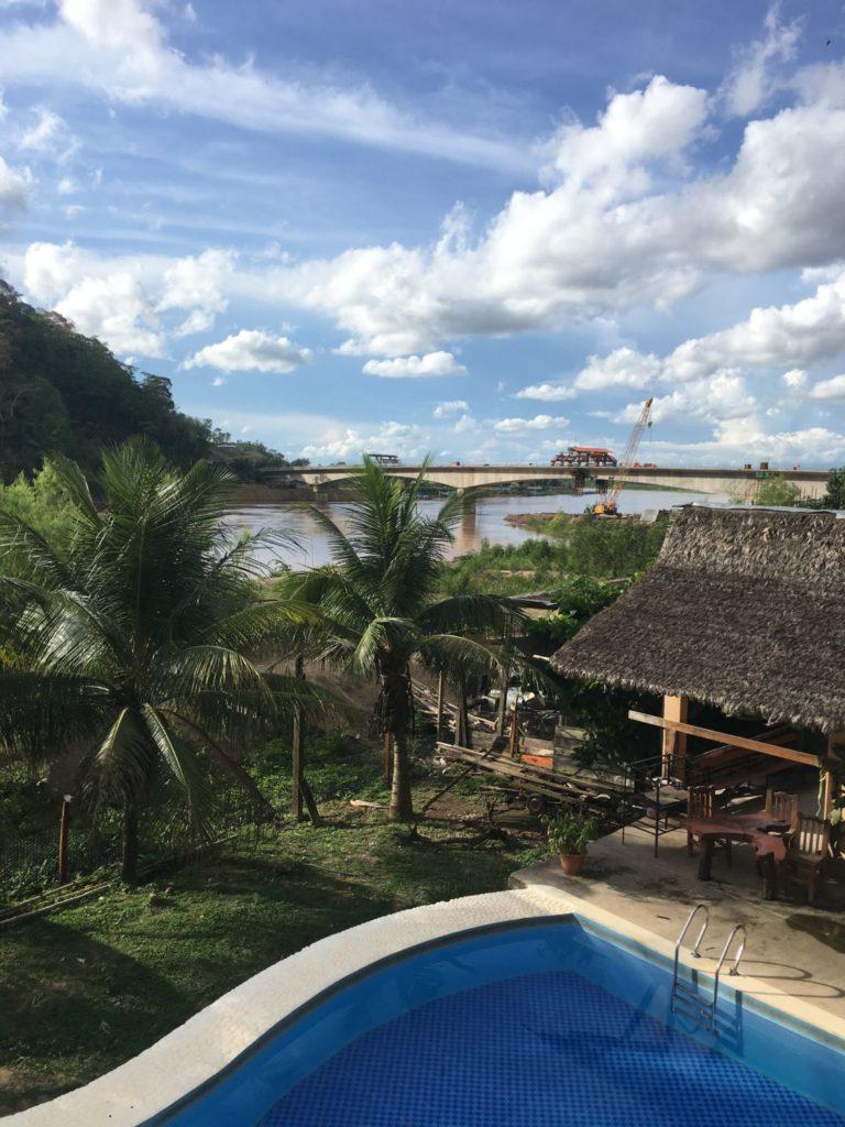 Rurrenabaque: Hostal El Lobo uitzicht vanuit onze kamer