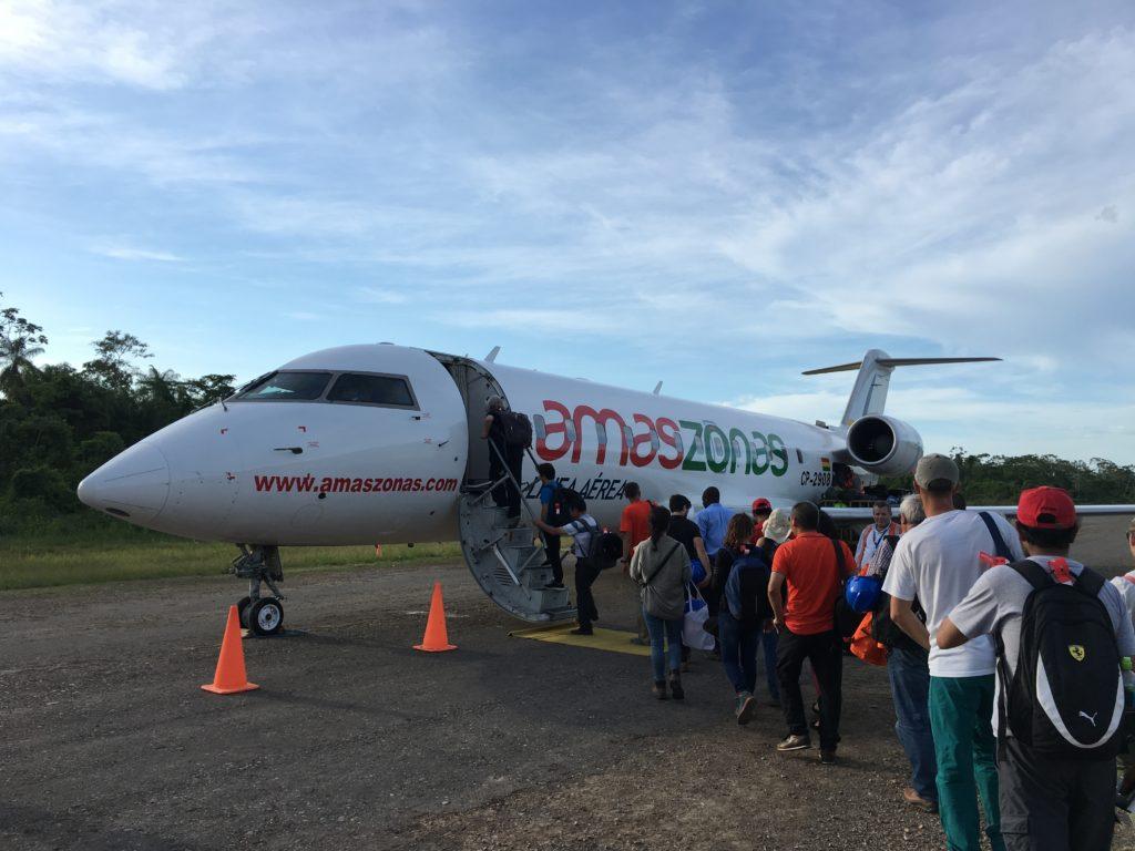 Vliegtuig La Paz - Rurrenabaque