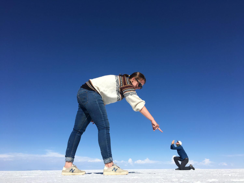 Reisroute Bolivia: Salar de Uyuni