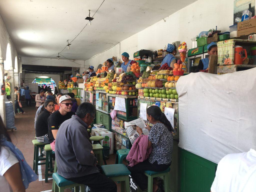Tips Sucre: Bezoek de centrale markt in Sucre