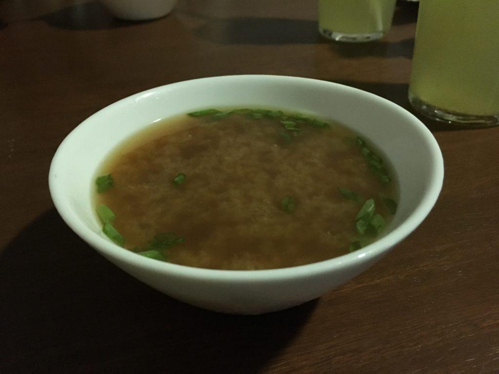 Tips Sucre: Lekkere soep bij Kaisek Sushi
