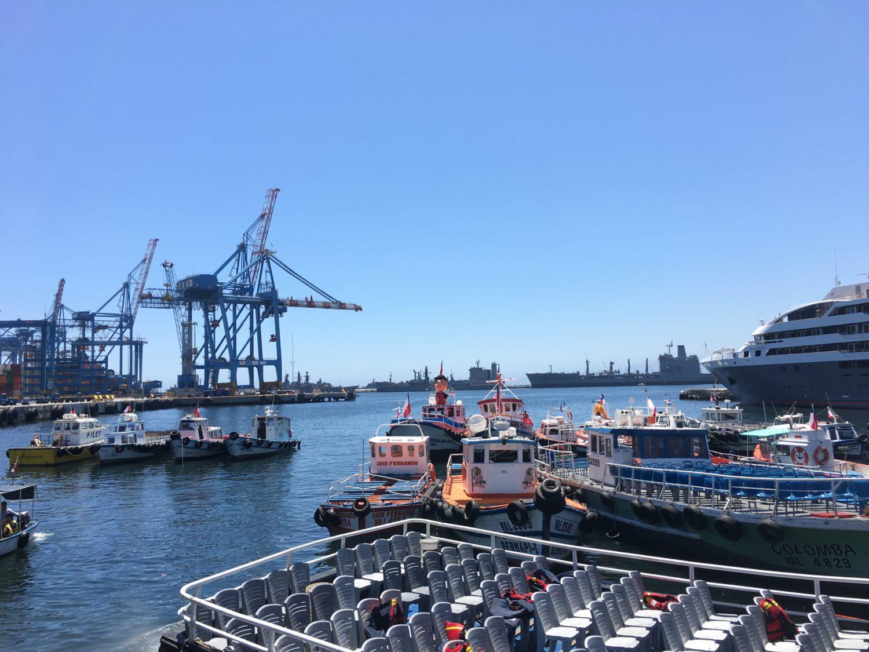 Reisroute Chili: Valparaiso