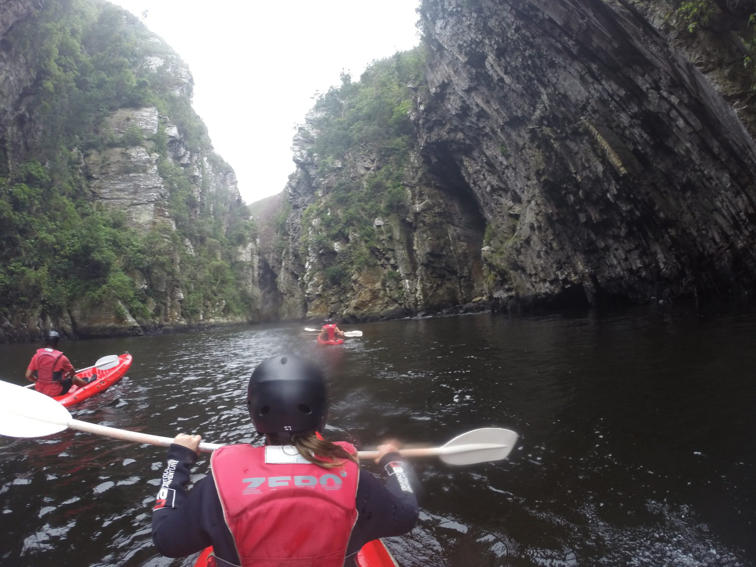 Kayakken in Tsitsikamma National Park