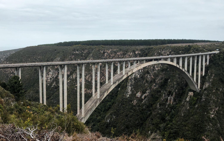 Bungeejumpen van de Bloukrans River Bridge