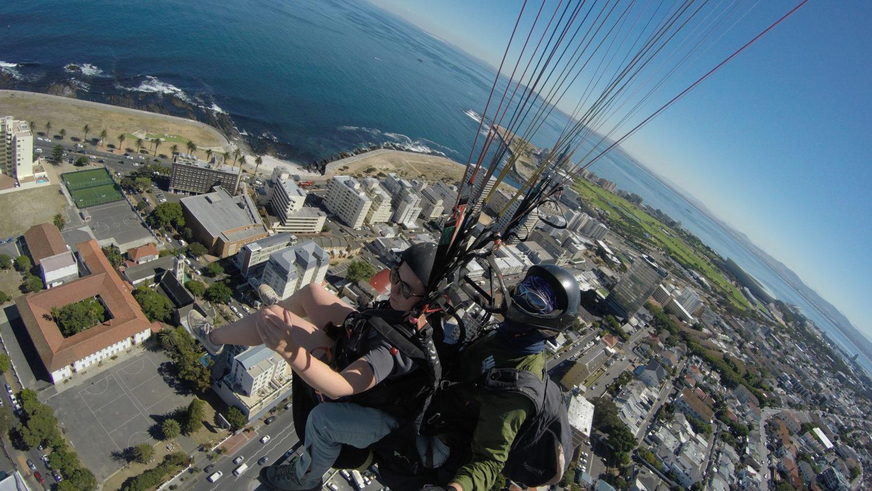Tips Kaapstad: Paragliden vanaf de Signal Hill