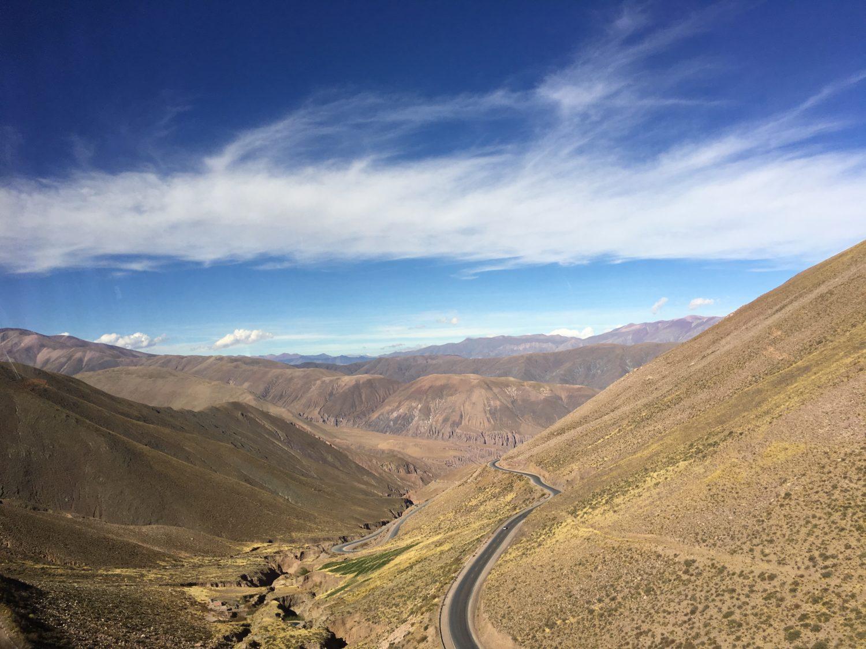 Het geweldige landschap in Chili