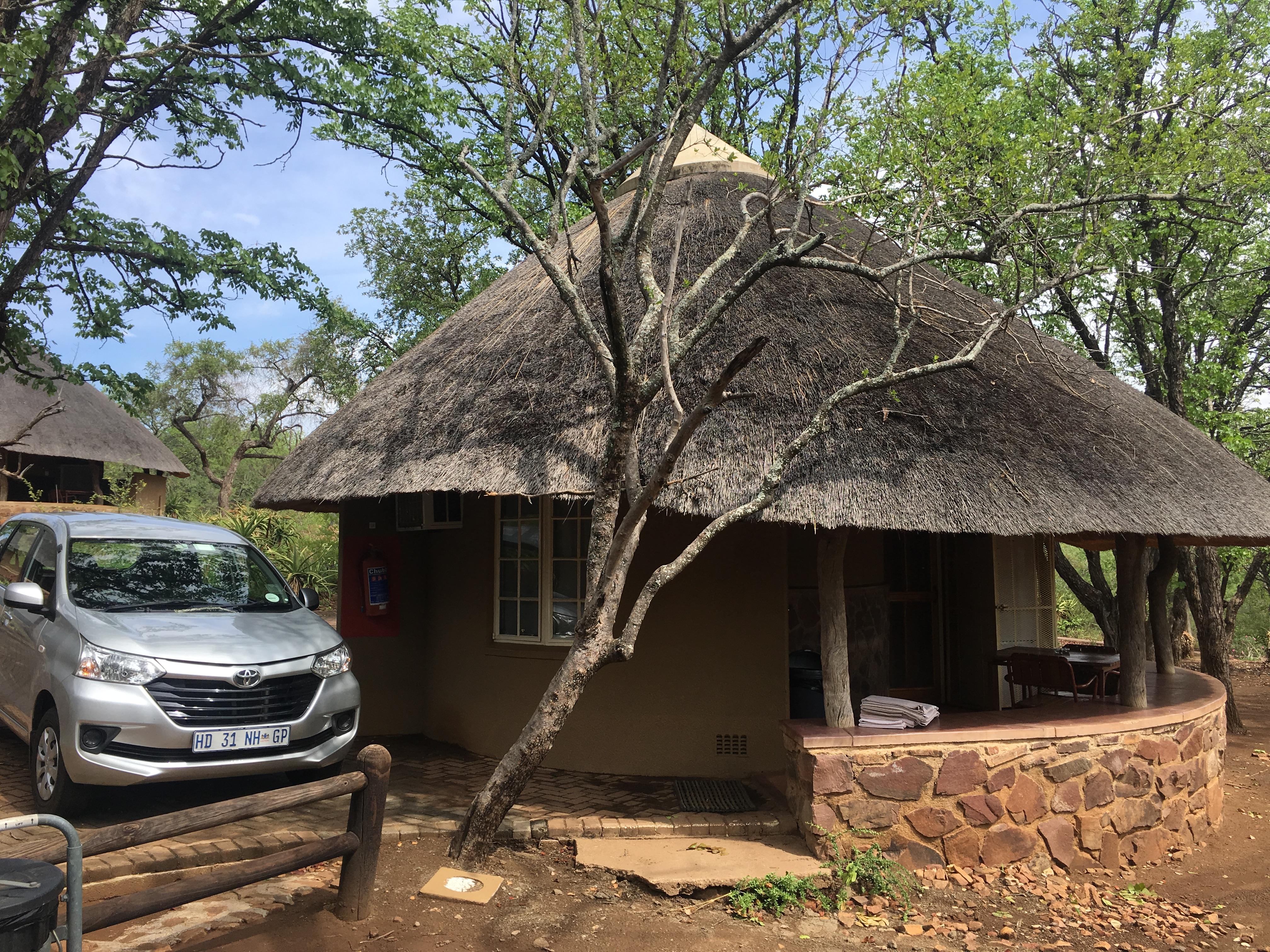 Route door het Krugerpark: Overnachting in Olifants Camp