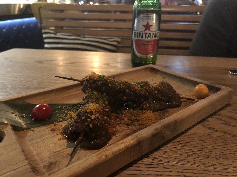 CURRY BEEF SATAY, heerlijk Aziatisch eten in Arnhem