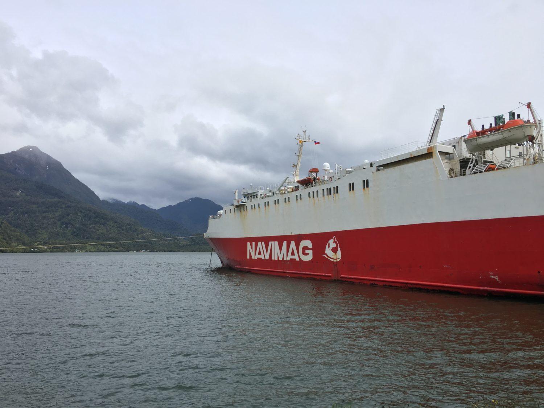 Met de Navimag door de fjorden van Patagonie