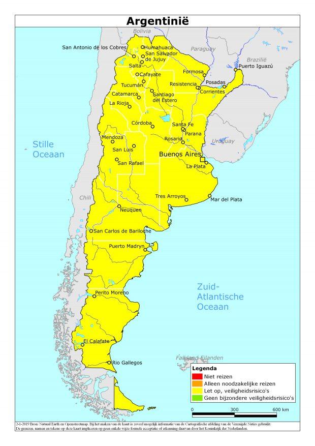 Reisadvies Argentinië