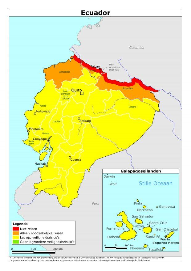 reisadvies Ecuador