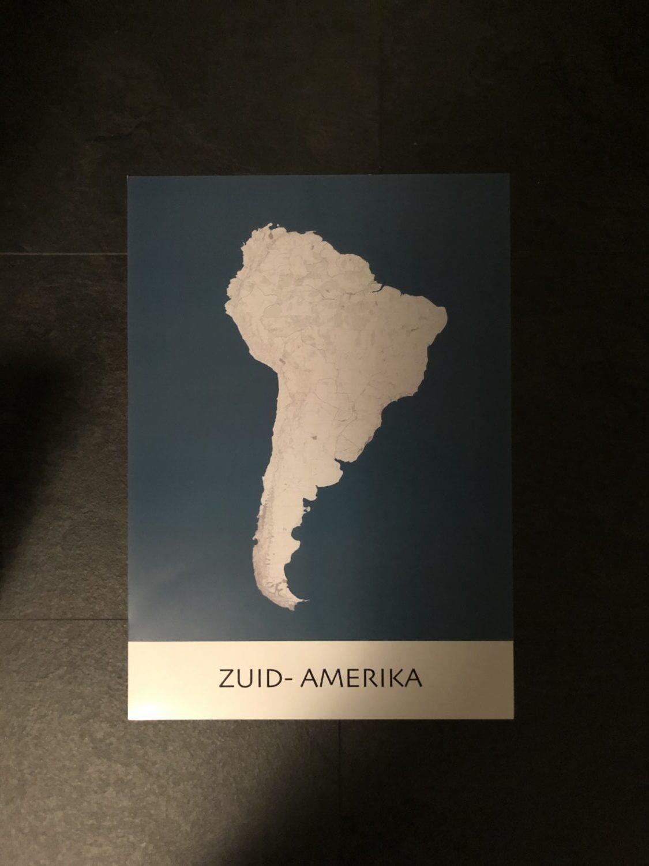 Poster: Zuid-Amerika