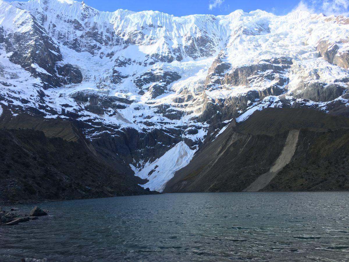 Salkantay trek: Humantay Lake