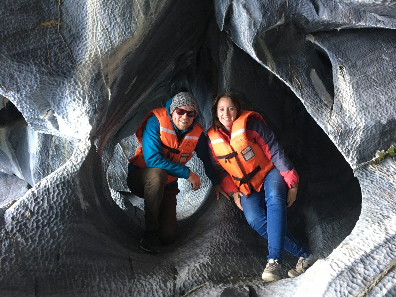 In de Marble Caves