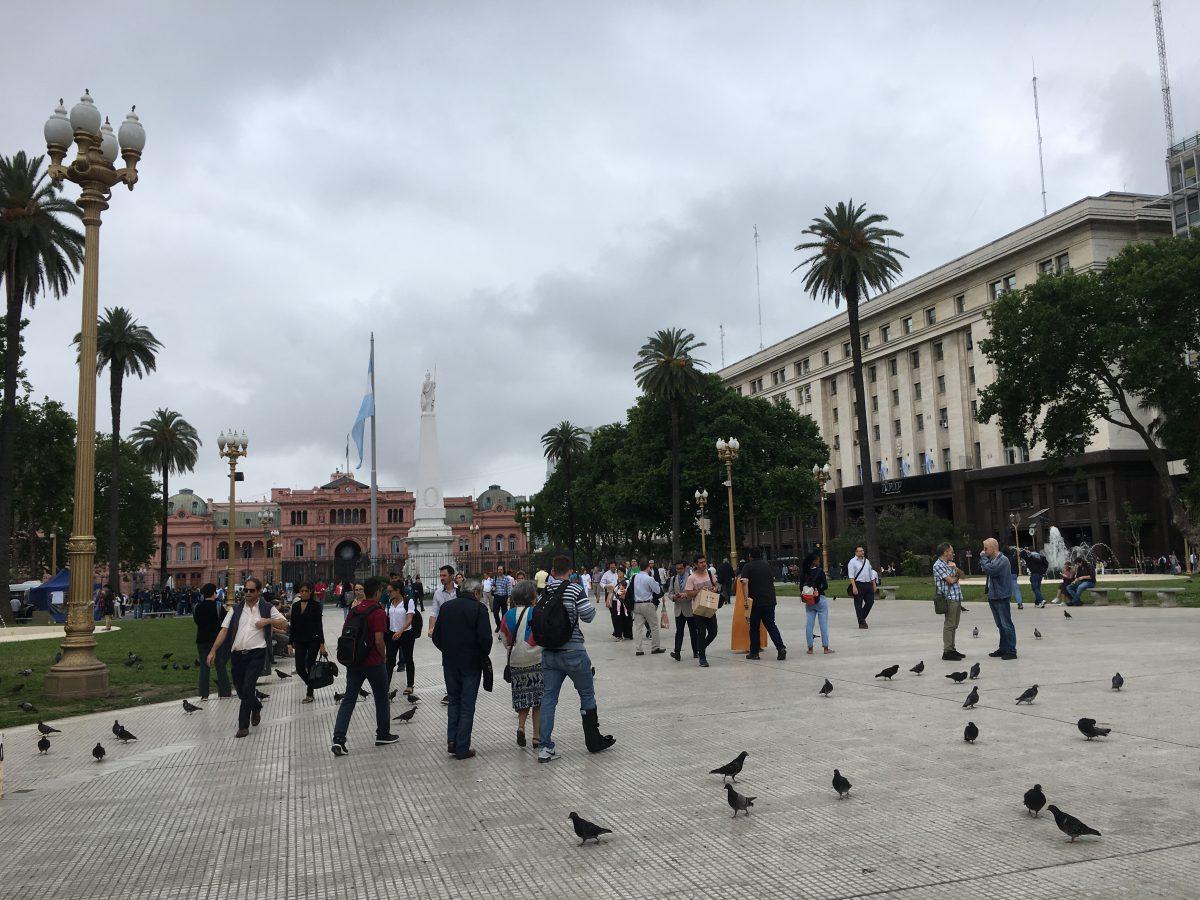 Tips Buenos Aires: Plaza de Mayo en Casa Rosada