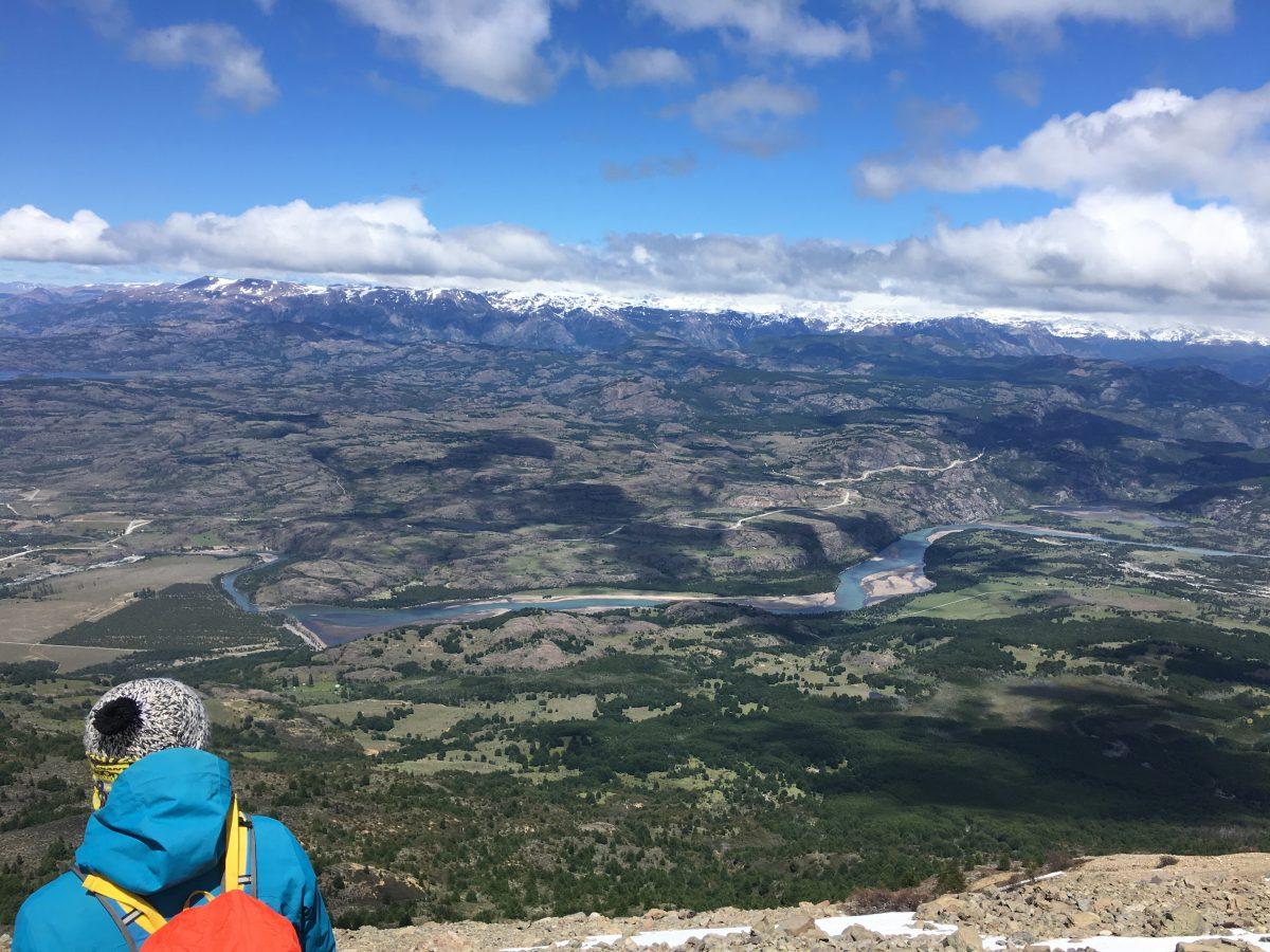 Uitzicht tijdens de hike