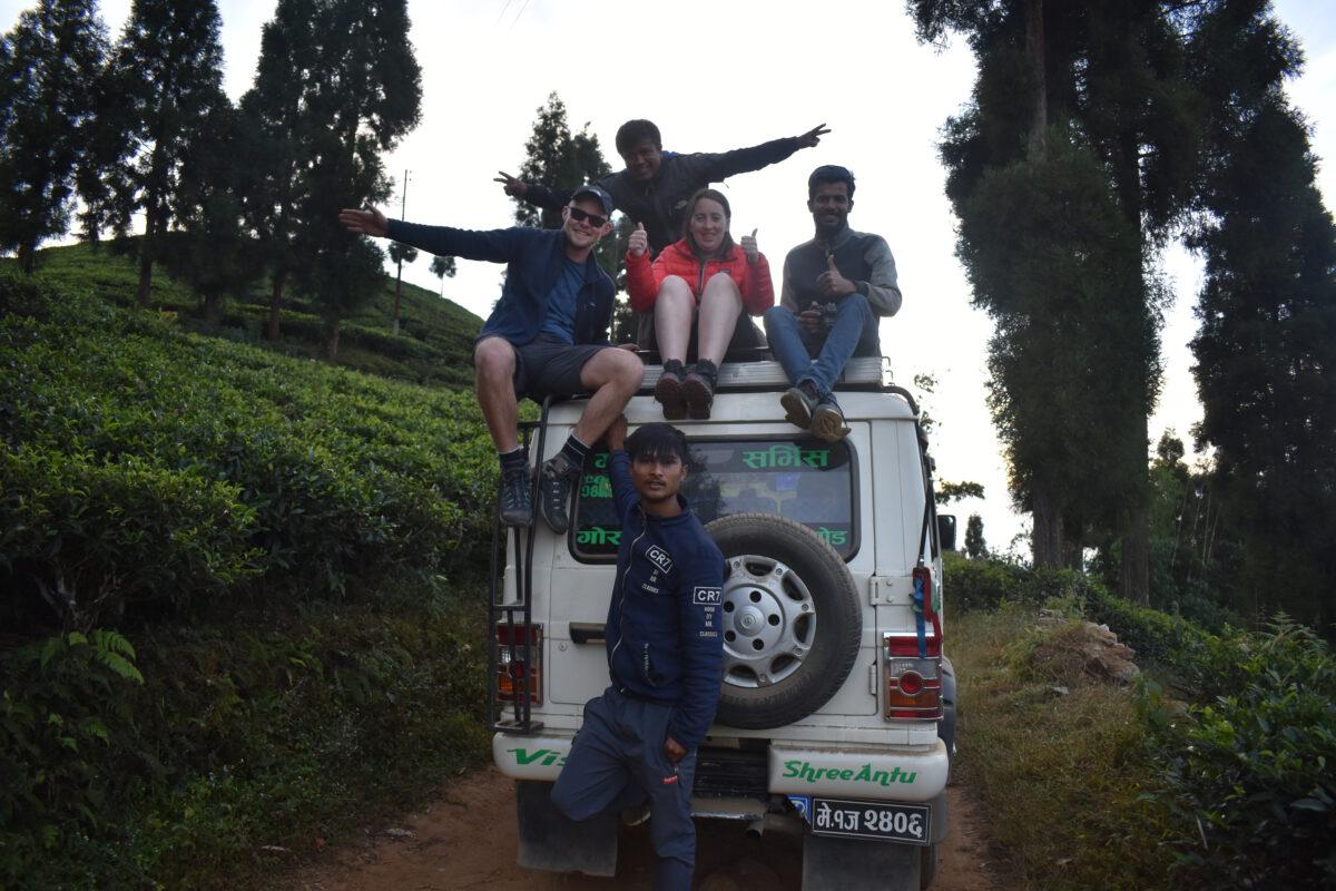 Met de 4x4 Jeep een stapje zetten op Indiase bodem